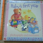 Baby's First Year (Photographs And Memories)