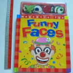 FUNNY FACES (Magnet Book)