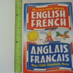 My First 1000 Words ENGLISH FRENCH