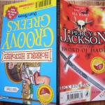 Percy Jackson and the Sword of Hades / Groovy Greeks (Horrible Histories)
