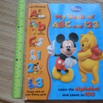 (Disney) My Book of ABC and 123