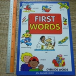 First Words (An Award Book/ Over 500 Words)