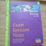 EXAM Revision Notes (AS/A-Level BIOLOGY)