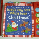 Usborne Baby's Very First Noisy Book CHRISTMAS (Sound Book)