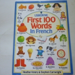 Usborne First 100 Words in French (Paperback)