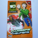 Ben 10 Alien Force Storybooks 4: Plumbers' Helpers