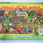 Animals of the World Jigsaw Book