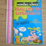 Horrible Science: Really Rotten Experiments Lab Notebook
