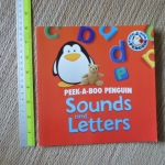 Peek-A-Boo Penguin: Sounds and Letters (Paperback)