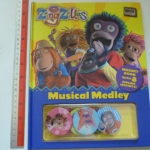 (ZingZillas) Musical Medley (Magnet Book With 7 Zinging Magnets Remaining)