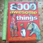8000 Awesome Things You Should Know (Used Book)