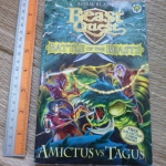 Beast Quest Battle of the beasts: Amictus Vs. Tagus