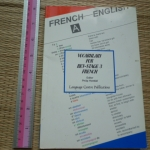 French-English: Vocabulary For Key-Stage 3 FRENCH
