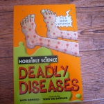 Horrible Science : Deadly Disease (ปกส้ม)