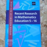 Recent Research in Mathematics Education 5-16 (Ofsted Reviews of Research)