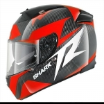 Shark Speed-R - Carbon Skin Series2 - Run - RED
