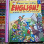 Geronimo Stilton ENGLISH! 1: Numbers And Colours
