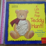 A Lift The Flap Teddy Hunt! (Flaps + Touch and Feel Book)