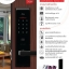 Loxguard Digital Door Lock รุ่น Milre MI-6000YS (Code+Card+Emergency Key Option Remote) - สีดำ thumbnail 3