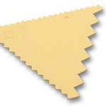 Matfer 3 SIDED DECORATING COMB 421702