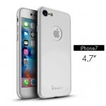 iPaky case 360 degree case iPhone 7-Silver