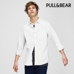 Pull & Bear Basic denim shirt