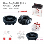 KE018 Queen Silicone Cake Mould Pavocake