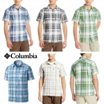 Columbia Men's Silver Ridge Zip Pocket & Omni wick SS Shirt
