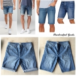 Handcrafted Denim Shorts