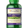 Puritan's Pride Soy Lecithin 1325 mg / 250 Rapid Release Softgels