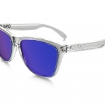 OAKLEY FROGSKINS OO9013-24-305 Polished Clear / Violet Iridium