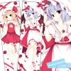 Touhou Project Flandre Remilia Sexy Hugging Body Pillow Case Cover 160*50cm