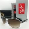 Ray Ban RB3386 004/13 004/9A gunmetal/Green polarized lens Aviator 63mm