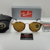 Ray Ban RB2447 1160 49mm B-15 TORTOISE & GOLD/BROWN