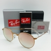 Ray-Ban RB3532 198/7Y Folding Round Metal Copper Mirror (พับได้)