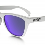OAKLEY FROGSKINS OO9245-17 Matte white / Violet (Asian Fit)