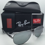 RAY BAN RB8313 004/K6 Gunmetal / Silver Mirror polarized