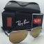 RAY BAN RB8313 004/N3 Gunmetal / Gold Mirror polarized