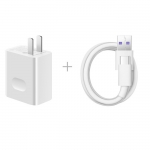 Huawei Super Charge Quick Charger พร้อมสายชาร์จ Type-C (White)