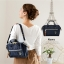 Mini Anello Boston shoulder Bag (สี Navy) thumbnail 9