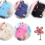 Girl's youth style backpack เซ็ต 3 ชิ้น แถมฟรีพวงกุญแจ thumbnail 20