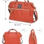 Large Anello Shoulder Boston Bag (สีแดง) thumbnail 2