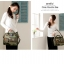 Large Anello Shoulder Boston Bag (ลายทหาร) thumbnail 3
