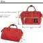 Mini Anello Boston shoulder Bag Dark Orange (สีแดง) thumbnail 2