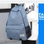 Simple color canvas bag (สีดำ) thumbnail 12