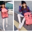 กระเป๋าเป้ Fashion full color backpack thumbnail 12