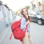 กระเป๋าเป้ Fashion full color backpack thumbnail 14