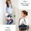 Mini Anello Boston shoulder Bag (สี Navy) thumbnail 8