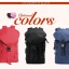 กระเป๋าเป้ Fashion full color backpack thumbnail 15