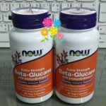Now Food Beta Glucans with ImmunEnhancer 250 mg 60 Capsules